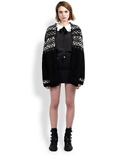 Saint Laurent - Fair Isle Cardigan