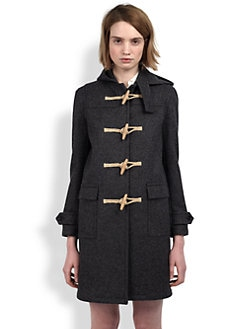 Saint Laurent - Wool Toggle Coat