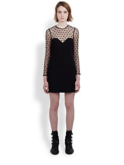 Saint Laurent - Polka Dot Dress