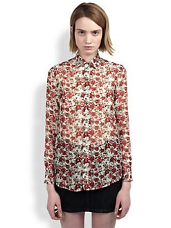 Saint Laurent - Floral Blouse