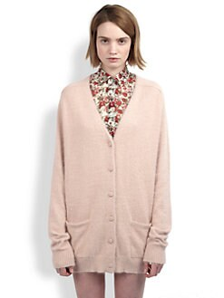 Saint Laurent - Mohair Cardigan