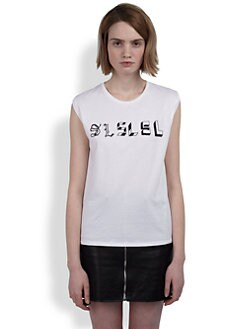 Saint Laurent - SL Sleeveless Top