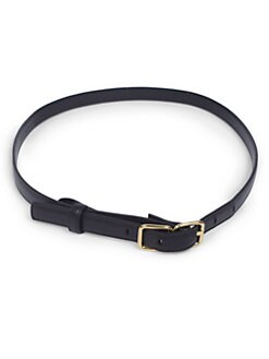 Saint Laurent - Skinny Leather Belt