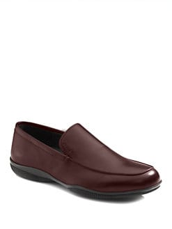 Prada - Leather Loafers