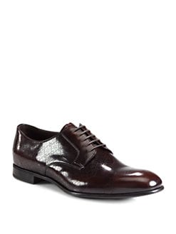 Prada - Spazzolato Matrix Lace-Ups