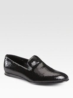 Prada - Pailette Slippers