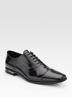 Prada - Captoe Lace-Up Shoe