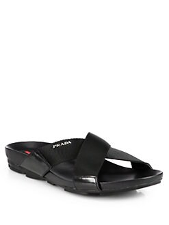 Prada - Leather Sandals