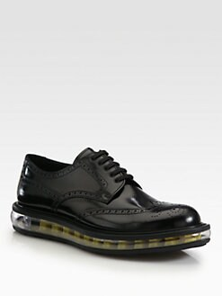 Prada - Spazzolato Wingtip Derby