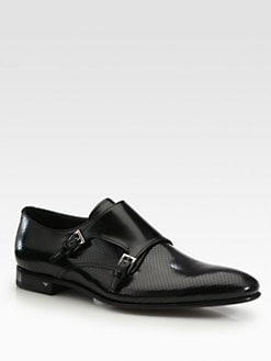 Prada - Double Monk Strap Slip-On