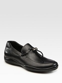 Prada - Toggle Loafers