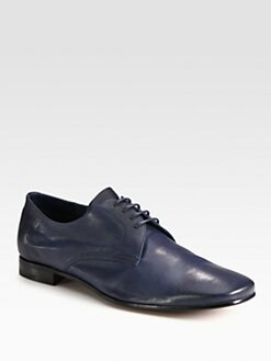 Prada - Antique Leather Lace-Ups
