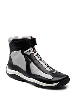Prada - High-Top Sneakers