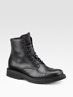 Prada - Lace-Up Boots