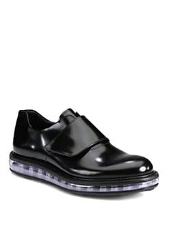 Prada - Spazzolato Leather Loafer