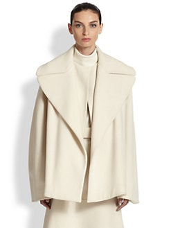 The Row - Laira Stretch Wool Coat