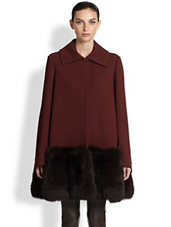 The Row - Hastin Fur-Trimmed Jacket