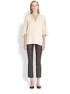 The Row - Toleno Notch-Neck Top