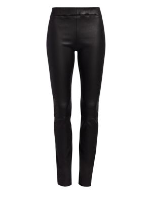 Essentials Leather Moto Pants