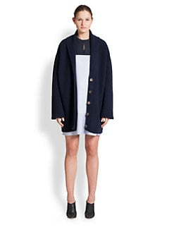 The Row - Katya Merino Wool & Cashmere Cardigan