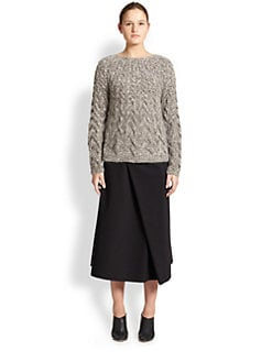The Row - Charlotte Cable-Knit Sweater