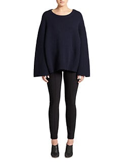 The Row - Astya Merino Wool & Cashmere Top