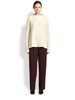 The Row - Ismenia Merino Wool & Cashmere Sweater