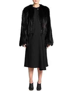 The Row - Hilliard Fox Fur Jacket