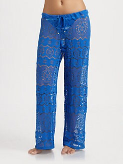 Ralph Lauren Blue Label - Crochet Beach Pants
