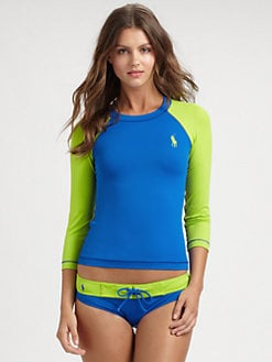 Ralph Lauren Blue Label - Classic Pony Rashguard