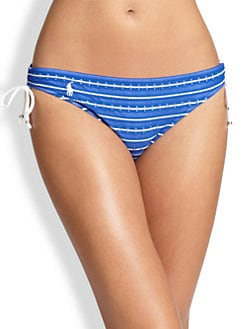 Ralph Lauren Blue Label - Eyelet Tunnel Hipster Bikini Bottom