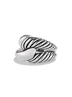 David Yurman - Sterling Silver Woven Ring