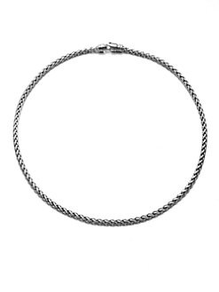David Yurman - Sterling Silver Wheat Chain Link Necklace/20