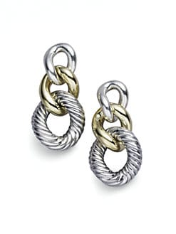 David Yurman - Cordelia Graduated Earrings with Gold