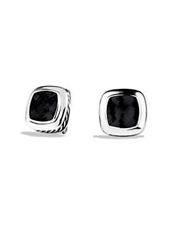 David Yurman - Black Onyx & Sterling Silver Earrings