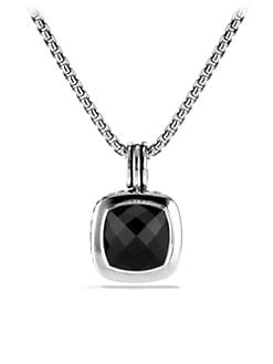 David Yurman - Black Onyx & Sterling Silver Enhancer