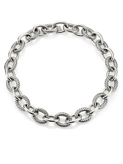 David Yurman - Sterling Silver X-Large Chain Link Necklace