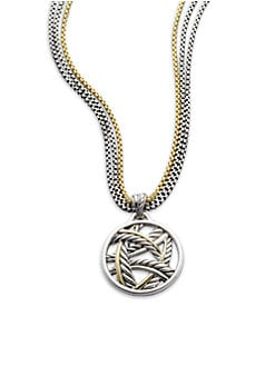 David Yurman - Sterling Silver & 18K Gold Enhancer