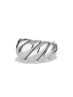 David Yurman - Sterling Silver Cable Ring