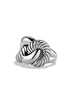 David Yurman - Sterling Silver Knot Ring