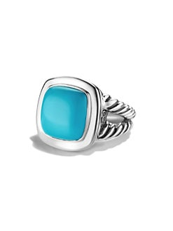 David Yurman - Turquoise & Sterling Silver Ring