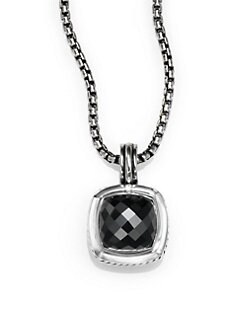 David Yurman - Hematite & Sterling Silver Enhancer