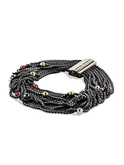 David Yurman - Semi-Precious Multi-Stone Multi-Chain Bracelet