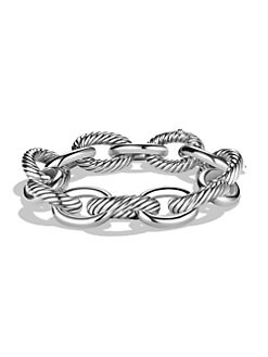 David Yurman - Sterling Silver X-Large Chain Link Bracelet