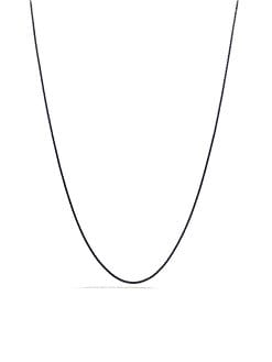 David Yurman - Blackened Sterling Silver Chain Necklace