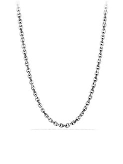 David Yurman - Sterling Silver Chain Necklace