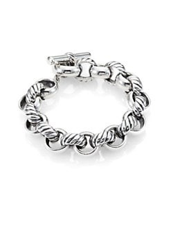 David Yurman - Sterling Silver Link Bracelet