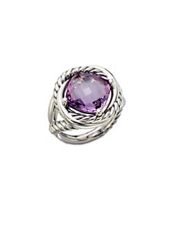 David Yurman - Amethyst and Sterling Silver Ring