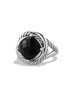 David Yurman - Black Onyx and Sterling Silver Ring