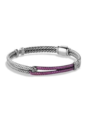 Petite Pavé Labyrinth Single-Loop Bracelet